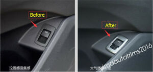4b26296bcff Rear Tail Tailgate Trunk Door Switch Button Cover Trim For BMW X1 ...