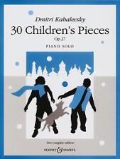 KABALEVSKY 30 CHILDREN'S PIECES Op27 York PIANO