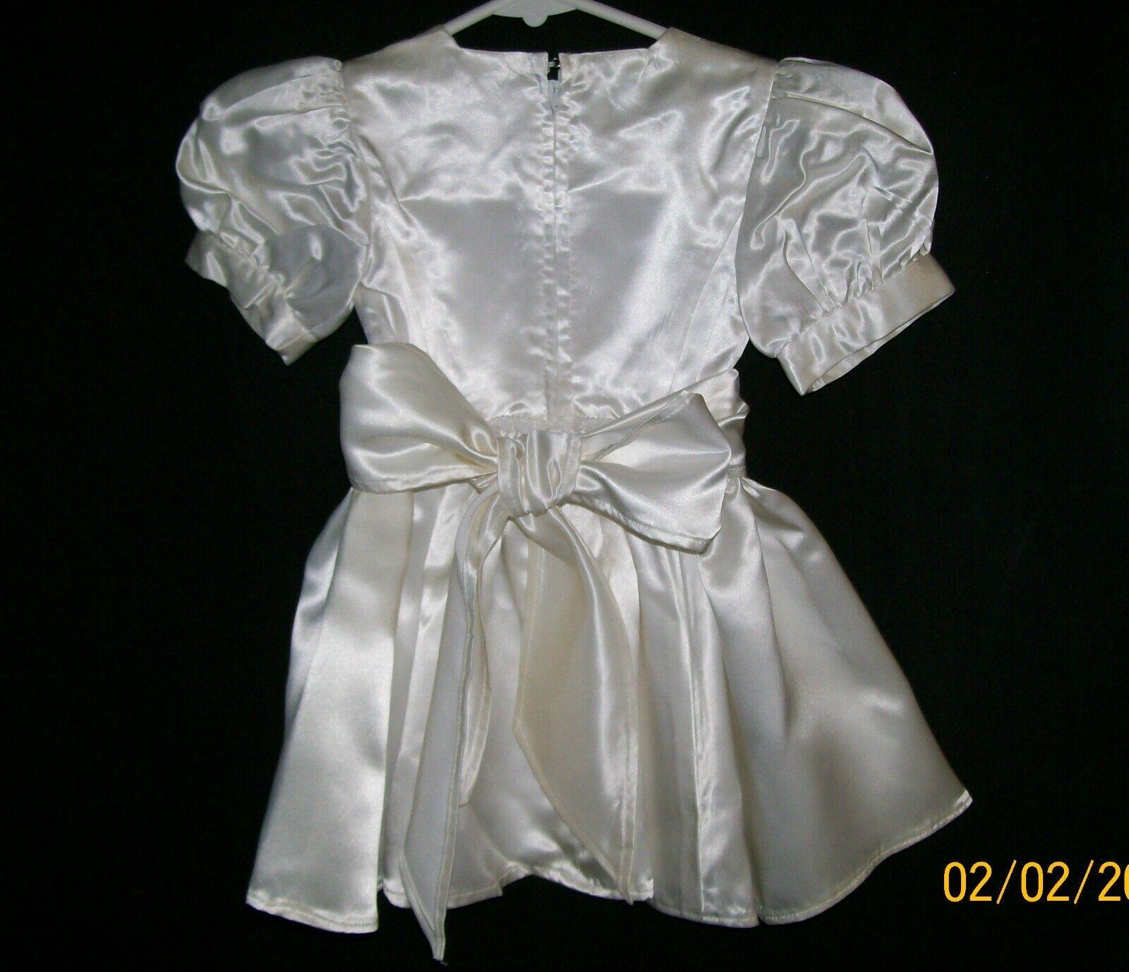 Mini Bride Dress, Child Wedding Dress, Handmade, … - image 5