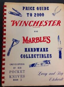 SIGNED-By-Author-Price-Guide-To-2000-Winchester-And-Marbles-1st-Printing-1974