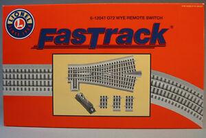 lionel fastrack 0 72 remote wye switch train track turnout. Black Bedroom Furniture Sets. Home Design Ideas