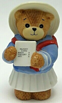 Report Card Vintage Lucy Riggs Kindergarden 1994 Lucy /& Me School figurine New Student Student Great Job Little Brown Bear