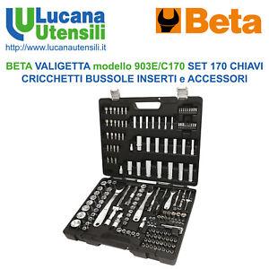 BETA-VALIGETTA-mod-903E-C170-SET-KIT-170pz-CHIAVI-BUSSOLE-INSERTI-ACCESSORI-BIT