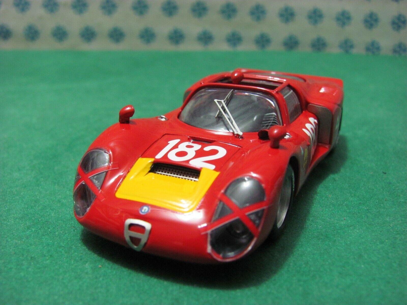 Alfa Romeo 33 2 Spyder 2000. Autodelta Targa Florio 1968   - 1 43 Best 9191