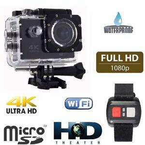 GOPRO-Q3-EMD-SPORT-ACTION-CAMERA-4K-WIFI-ULTRA-HD16MP-VIDEO-TELECOMANDO-CAM-4K