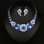 Fashion-Crystal-Pendant-Bib-Choker-Chain-Statement-Necklace-Earrings-Jewelry thumbnail 155
