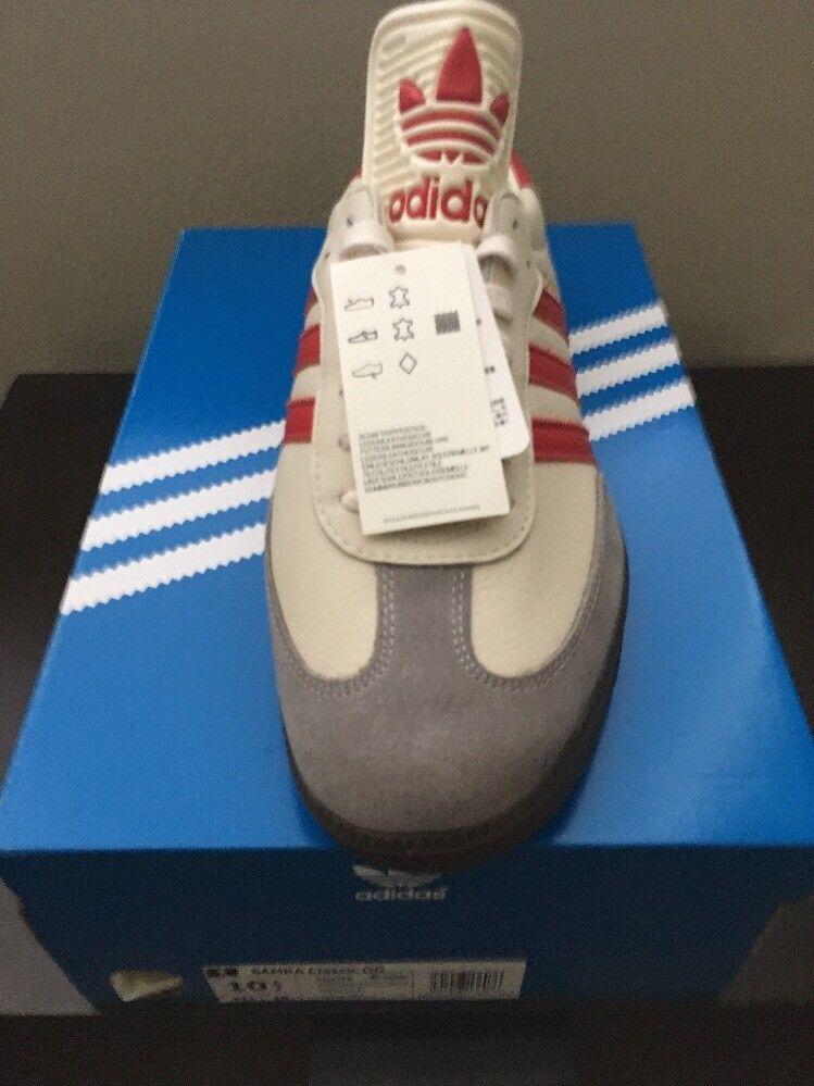 Nuove gesso adidas samba classico og scarpe luzhniki cq2216 gesso Nuove bianco / rosse a1 69176a