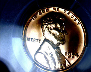 BEAUTIFUL-PCGS-1954-PR65RD-LINCOLN-WHEAT-PENNY-PR-65-RD-RED-PROOF