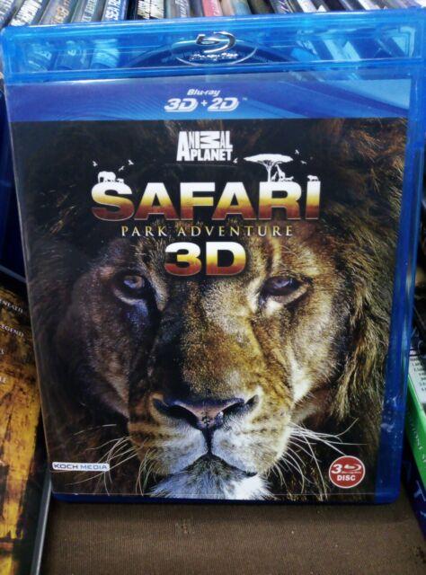 SAFARI in 3D BLURAY 3 DISCHI ANIMAL PLANET