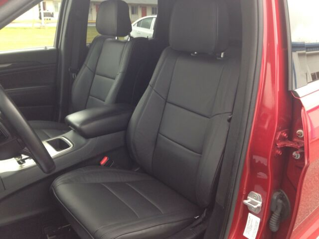 2015 2016 2017 2018 JEEP GRAND CHEROKEE LAREDO BLACK KATZKIN LEATHER SEAT COVERS