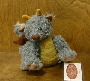"""Ganz Cottage CC11274 PUFFY DRAGON by Lorraine Chien NEW/Tag From Retail Store 8"""""""