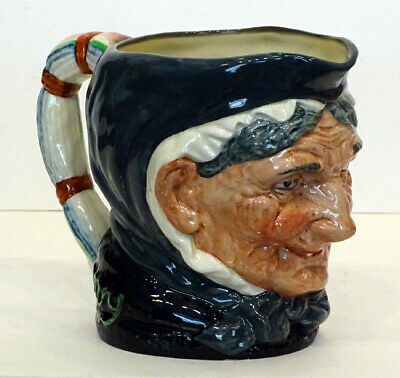 Vintage Royal Doulton Granny Large character toby mug Made in England