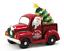 "Mr Christmas 14/"" Lit Nostalgic Ceramic Red Truck with Tree"