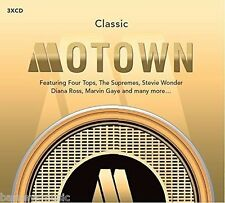 CLASSIC MOTOWN ( NEW SEALED 3 x CD ) TAMLA MOTOWN GREATEST HITS / VERY BEST OF