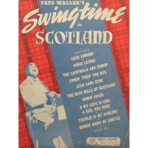 Fats waller's swingtime in scotland 10 pieces piano 1938 ...