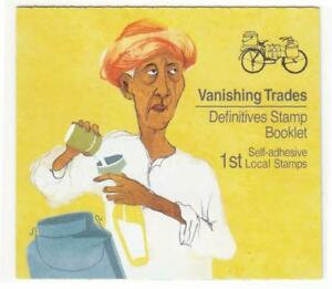 SINGAPORE-2013-VANISHING-TRADES-DAIRY-MAN-1ST-PRINT-2013A-BOOKLET-10-STAMPS