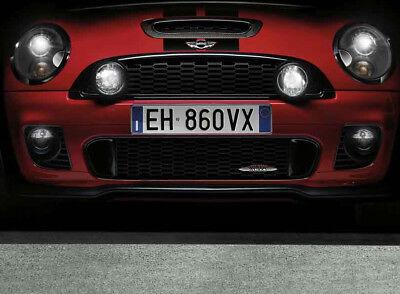 Genuine MINI Cooper R55 R56 R57 Front Chrome Trim Moulding OEM 51117209904