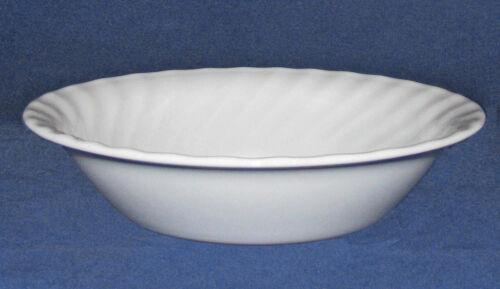 Corelle ELEGANCE Enhancements White Swirl SOUP CEREAL BOWL