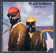 BLACK  SABBATH NEVER SAY DIE  CD VINYL REPLICA (MINIATURE) F.C. SIGILLATO!!!