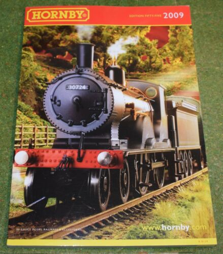 HORNBY TRAINS RAILWAY OO GAUGE CATALOGUE EDITION FIFTY FIVE 55 2009