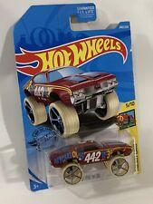 2019 Hot Wheels #240 Red Cutlass Olds 442 W-30 HW Art Cars