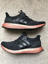 Adidas Ultra Boost 3.0 Black Bronze Tech Rust Leather Cage Size UK8.5/US9/EU42⅔