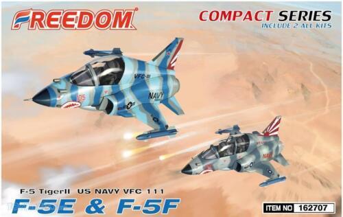 2 Bausätze in 1 Box Northrop F-5E /& F-5F Tiger VFC-111 Freedom Modelle