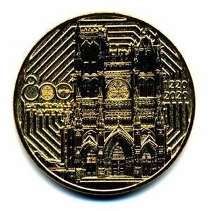 80 AMIENS Cathédrale 3, 1220-2020, 800 ans, 2021, Monnaie de Paris