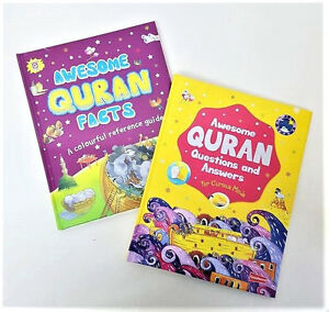 Details about SPECIAL OFFER: Awesome Quran Facts / Awesome Quran Q and A -  2 Books Set (HB)