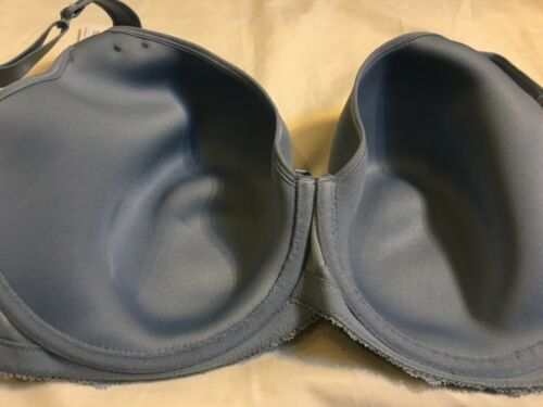 New M/&S Collection Lace Padded Full Cup T-Shirt Bra Set Size 16 40E