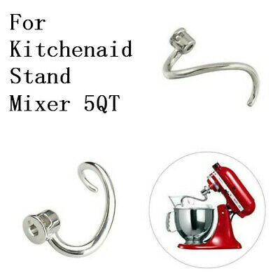 Coated Dough Hook for K5SS Spiral Dough Hook Replacement for Kitchen Aid Mixer