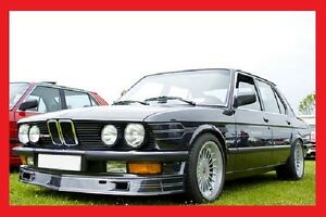 BMW E28 FRONT SKIRT / SPOILER / LIP - ALPINA look !! NEW !! NEW ...