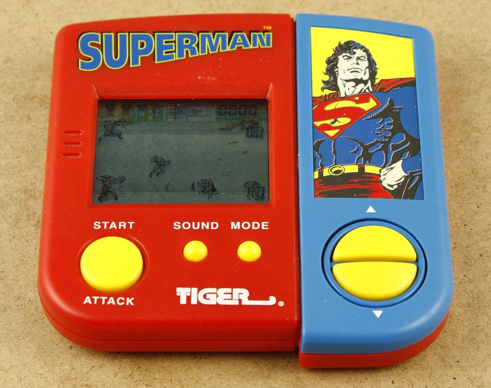 Tiger Superman 1996 Electronic Handheld Game RARE