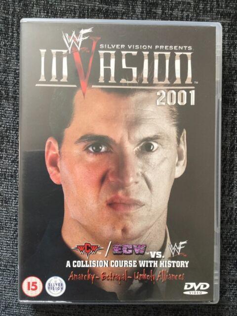 WWF - Invasion 2001 (DVD, 2001) WWE RARE