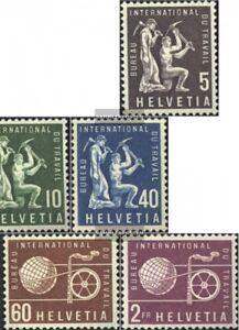 Schweiz-ILO94-ILO99-kompl-Ausg-postfrisch-1956-Freimarken