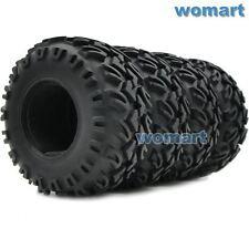 4pcs RC 2.2 Rock Crawler Tires 130mm Fit RC 4WD Axial 2.2 beadlock Rims Wheels
