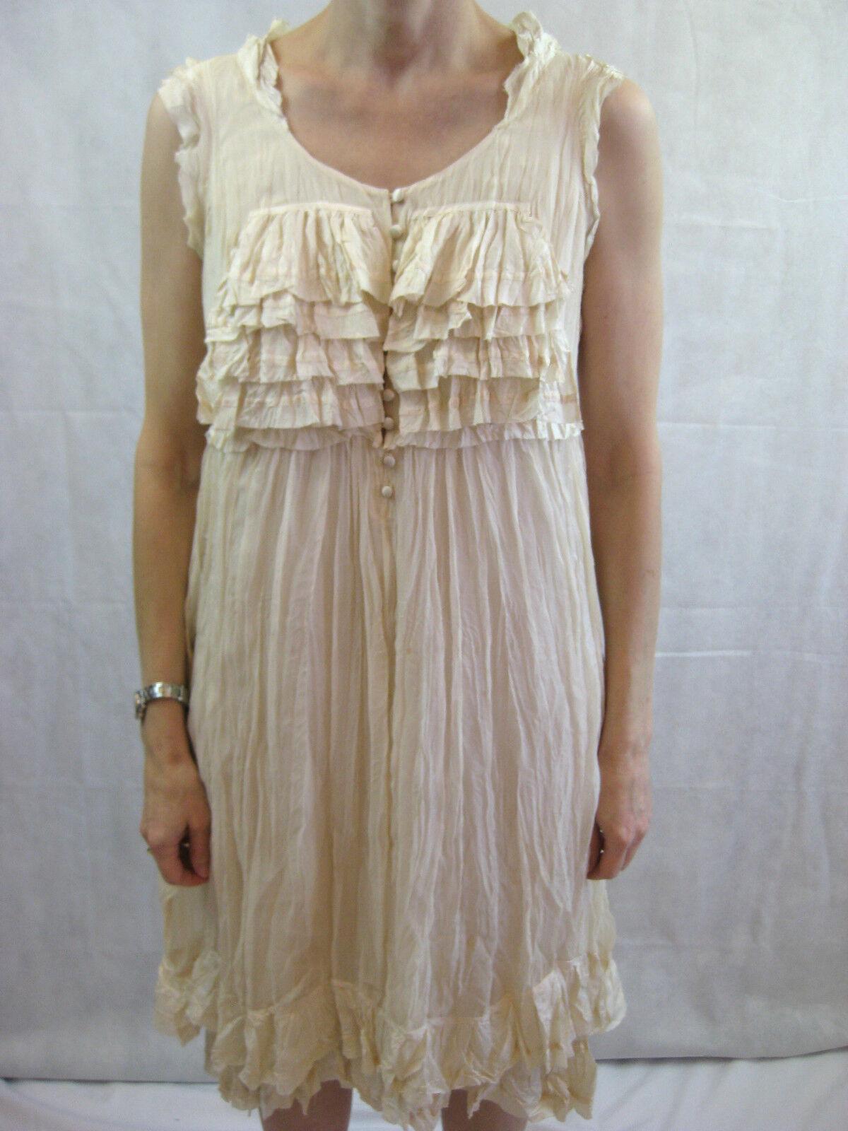 Robert Rodriguez Size 8 Cream Silk Formal Dress
