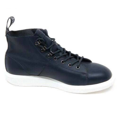 Uomo Martens Dr Scarpe Chaussure D4460 Blu Sneaker Homme nwx5a