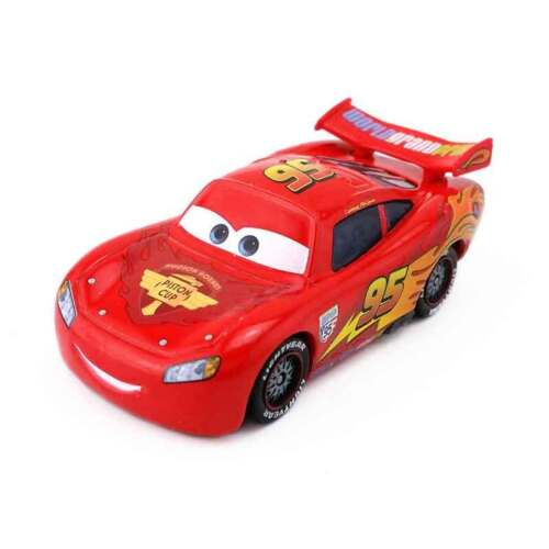 Disney Pixar Cars Lightning McQueen Mater King 1:55 Model Toy Car Gift For Kids