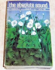The Absolute Sound Vol 10 Issue 37 1985 Spendor Mission Conrad-Johnson Szabo