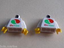 Lego 2 torses set 6597 6539 6663 6548 /2 white torso from minifig