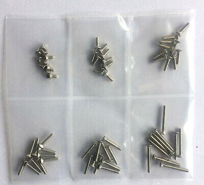 Senkkopfschrauben Kreuzschlitz 6 mm DIN 965 M 6 x 16 mm Edelstahl A2 50 Stk