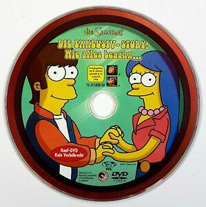 DVD-SIMPSONS-Die-Exklusiv-Story-Wie-alles-begann-dt-HOMER-BART-SPRINGFIELD