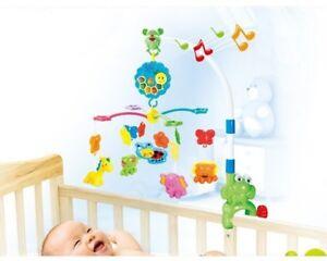 Musikmobile-Spieluhr-Musikuhr-Einschlafhilfe-Mobile-Kinderbett-Baby-Spielzeug