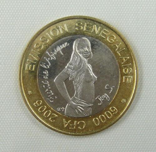 West Africa SENEGAL Coin 4 Africa 6000 CFA 2006 UNC
