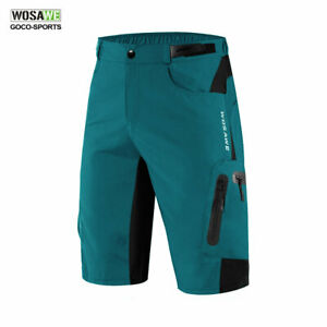 Baggy-Cycling-Shorts-Mens-MTB-Mountain-Bike-1-2-Padded-Pants-Sports-Loose-fit