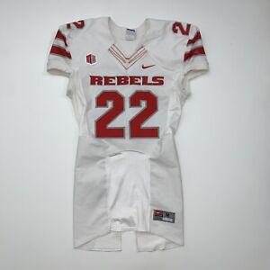 Nike UNLV Rebels Game Worn Football Jersey Adult Medium #22 NCAA White Red