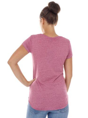 Décontracté Rond Décontractée Haut Col Violet Cmp Vintage shirt Chemise T za81qZ