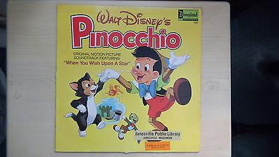 Walt Disney S Pinocchio Motion Picture Soundtrack