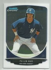 Fu-Lin Kuo NY Yankees 2013 Bowman Chrome Mini Card